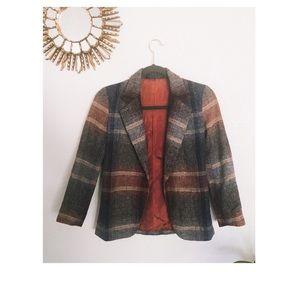 Vintage Flannel Blazer